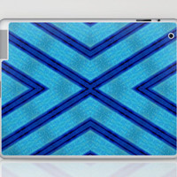 Blue X-FILE Laptop & iPad Skin by Bruce Stanfield | Society6