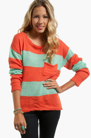 Jenga Striped Sweater $43