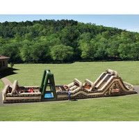 The 85 Foot Inflatable Military Obstacle Course - Hammacher Schlemmer