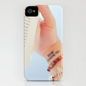 keep looking up. iPhone Case by Comesailaway | Society6