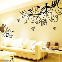80inch amazing flowers blooming butterflyart Graphic by ccnever