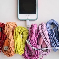 10 Foot Bungee iPhone Cable - iPhone 4, 5 or 6!!