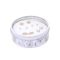 With Love From CA Boho Earring Gift Tin - Womens Jewelry - Multi - One