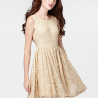Shimmering Lace Dancer Dress