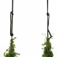 Sedile da altalena piano - SWING WITH THE PLANTS- BLACK by Marcel Wanders - ArchiExpo