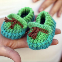 Shoebeedoo Loafers (Baby Sizes) - Crochet PATTERN PDF - Permission to Sell Finished Items