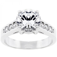 Serendipity Engagement Ring (size: 08) - Serendipity Engagement Ring (size: 08) / Silver, Clear