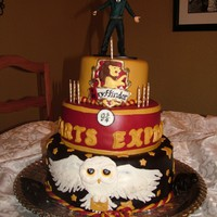 Harry Potter cake by Missy_W on Cake Central
