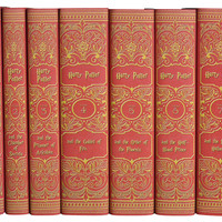 Harry Potter Gryffindor Collection, Set of 7, Fiction Books
