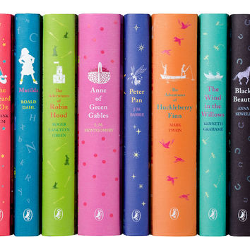 Puffin Classics for Young Readers Set of 10 Fiction Books