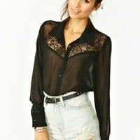 Lowlands Lace Blouse