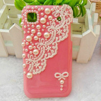 The Pearl Lace case shell iphone 4 case iphone 4s case