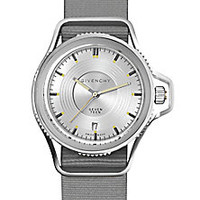 Givenchy - Seventeen Stainless Steel Watch - Saks Fifth Avenue Mobile