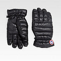 Canada Goose - Lodge Gloves - Saks Fifth Avenue Mobile