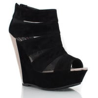 strappy-wedges BLACK - GoJane.com