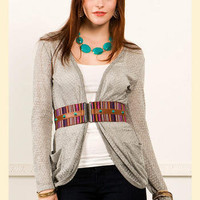 Shimmering Touch Cardi