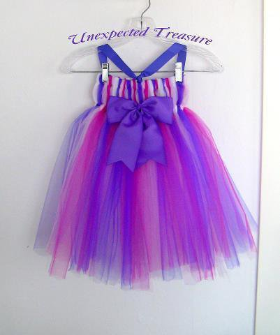 Custom Tutu Dress by UnexpectedTreasure on Zibbet