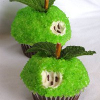 Yum! / Green Apple Cupcakes