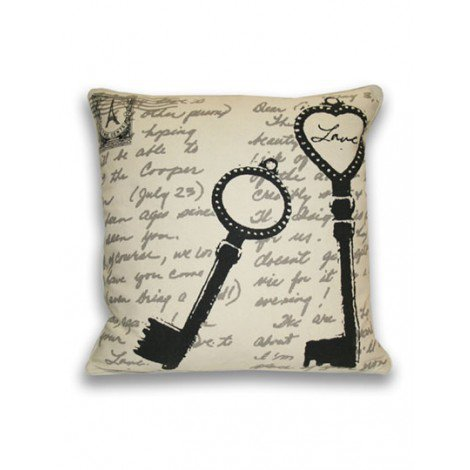 Key Postcard Pillow