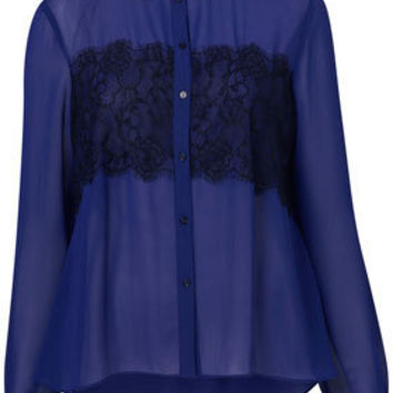 Lace Applique Shirt