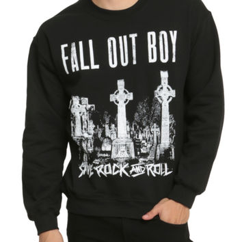 Fall Out Boy Save Rock And Roll Crew Pullover