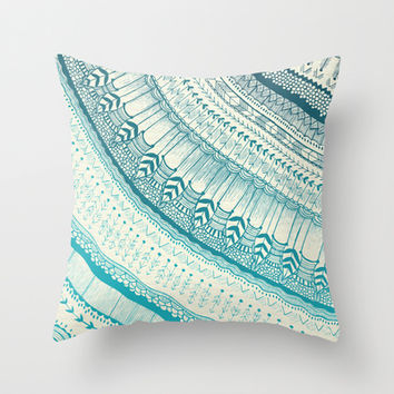 Harmony  Throw Pillow by Rskinner1122