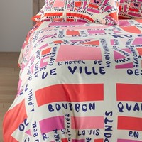 DENY Designs 'Holli Zollinger - Paris' Duvet Set,