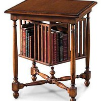 Victorian trading Co. - www.victoriantradingco.com - English Revolving Book Table