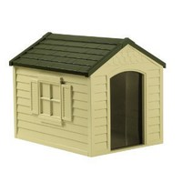 Amazon.com: Suncast DH250 Dog House: Pet Supplies