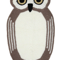 You?re an Animal Rug in Owl | Mod Retro Vintage Decor Accessories | ModCloth.com
