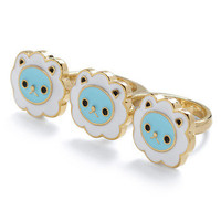 Sheep It On Hand Ring | Mod Retro Vintage Rings | ModCloth.com