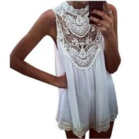 KingSo® Women Celeb Lace Chiffon Party Evening Summer Ladies Short Beach Dress