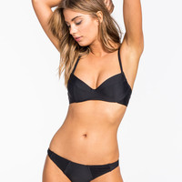 Rvca Eternal Sunrise Hipster Bikini Bottoms Black  In Sizes