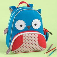 Kids Lunch Bags: Childrens Owl School Lunch Bags