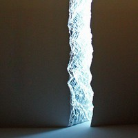 Wall Rupture Light by Thierry Dreyfus