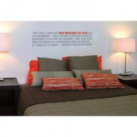 ADZif Blabla Poetry Wall Decal - T3106 - All Wall Art - Wall Art &amp; Coverings - Decor