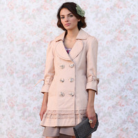 marilyn's pink timeless coat by Nick & Mo - $105.99 : ShopRuche.com, Vintage Inspired Clothing, Affordable Clothes, Eco friendly Fashion