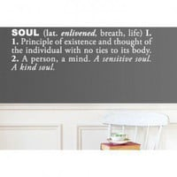 ADZif Blabla Soul (English) Wall Decal - T3107-EN - All Wall Art - Wall Art &amp; Coverings - Decor