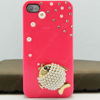 iphone case  iPhone 4 case  Phone  case iPhone cover  fish 14 color choices