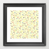 Tiny Wonders  Framed Art Print by Rachel Burbee | Society6