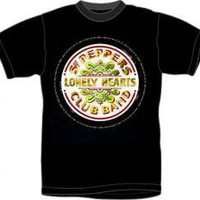 ROCKWORLDEAST - The Beatles, T-Shirt, Sgt Pepper's Lonely Hearts Club Band