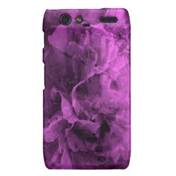 Purple Emotions RAZR Barely There Case Droid Razr Cases from Zazzle.com