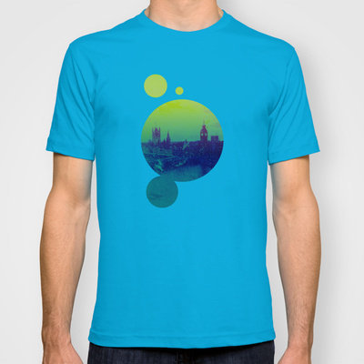 Big Ben in the Distance  T-shirt by ▲ Bright Enough | Society6