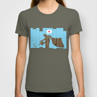 Batman - Be yourself... T-shirt by ▲ Bright Enough | Society6