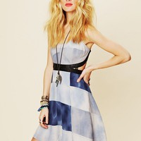 Free People FP New Romantics Hanalee Patchwork Dress