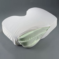 The Side Sleeper's Adjustable Pillow - Hammacher Schlemmer