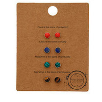 Message Stud Earring Pack