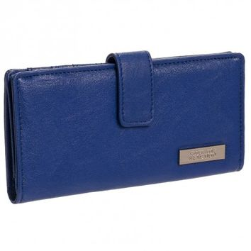 Kenneth Cole Reaction Women's Textured Thin Snap Wallet