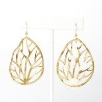 Wavy Branch Earrings | a-thread