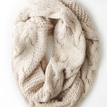 AEO Womenx27s Donx27t Ask Why Mixed Knit Scarf